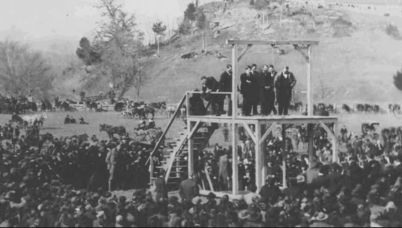 Last Public Execution in West Virginia image. Click for full size.