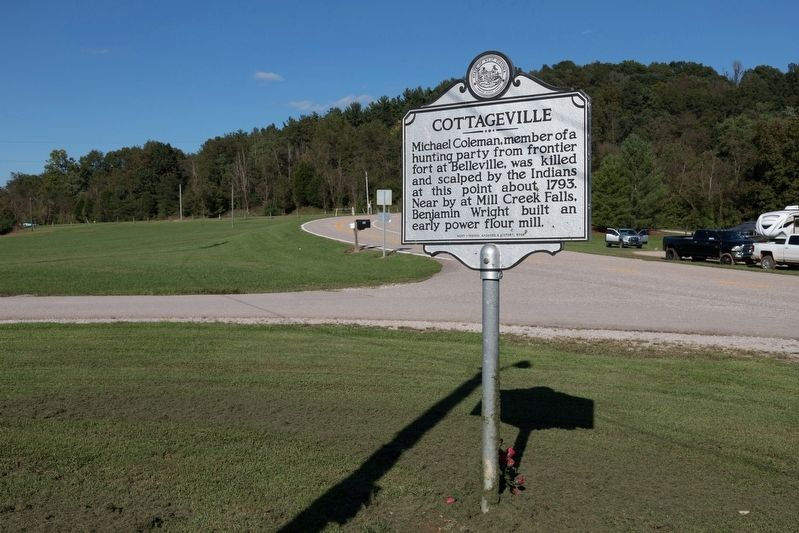 Cottageville Marker image, Touch for more information