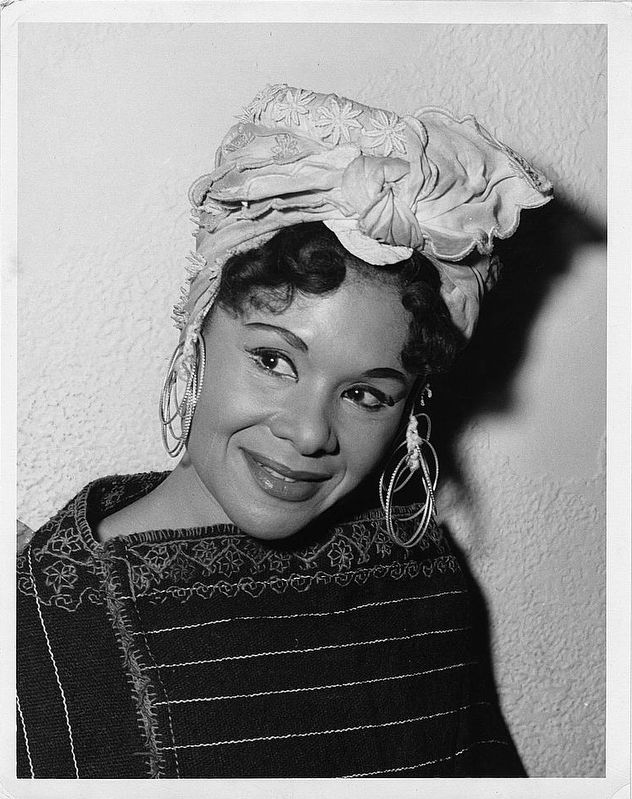 Katherine Dunham image. Click for full size.