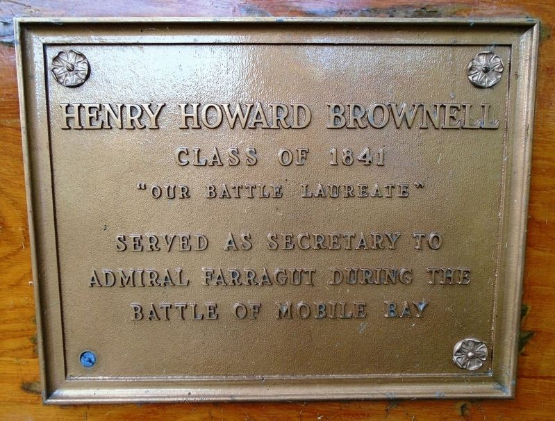 Henry Howard Brownell Marker image. Click for full size.
