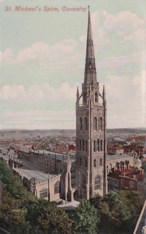 St. Michael's Spire, Coventry image. Click for full size.