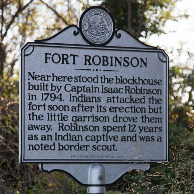 Fort Robinson Marker image. Click for full size.