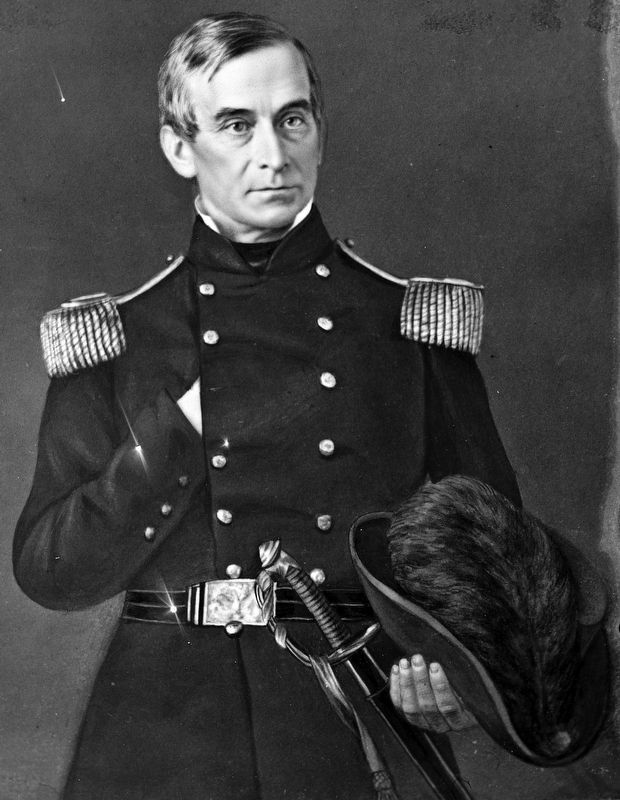 Maj. Robert Anderson<br>(Brig. Gen. from May 15. 1861) image. Click for full size.