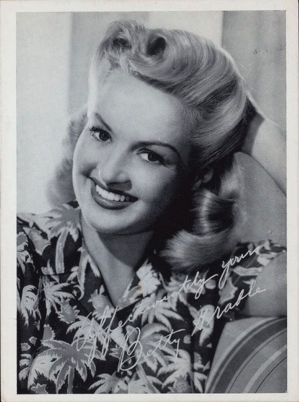 <i>Betty Grable</i> image. Click for full size.