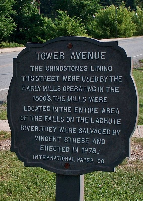 Tower Avenue Grindstones Marker image. Click for full size.