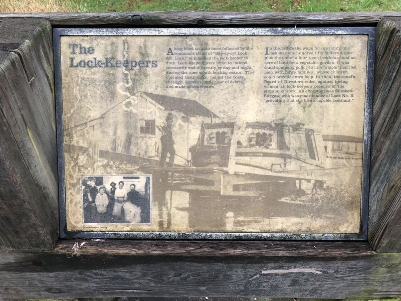 The Lock-Keepers Marker image. Click for full size.