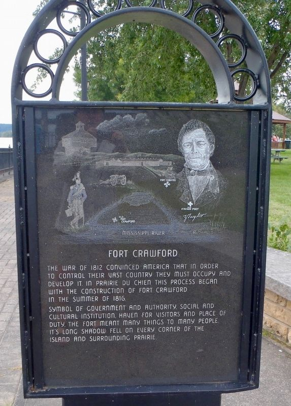 Fort Crawford Marker image. Click for full size.