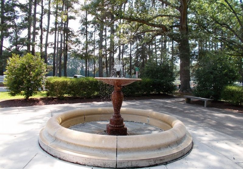 Exhibit A: The stone water fountain image. Click for full size.
