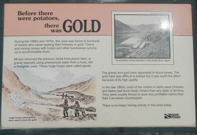 Before there were potatoes, there was GOLD Marker image. Click for full size.
