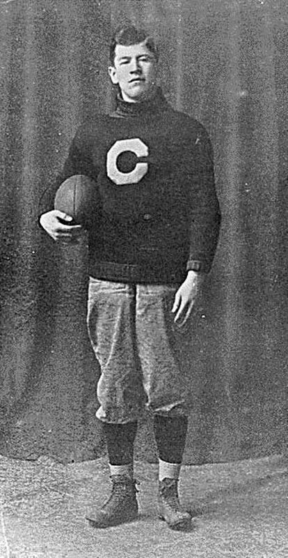 Jim Thorpe in Carlisle Indian School Uniform image. Click for full size.