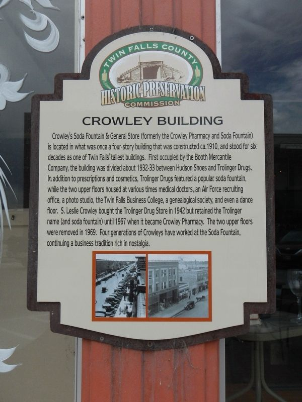 Crowley Building Marker image. Click for full size.