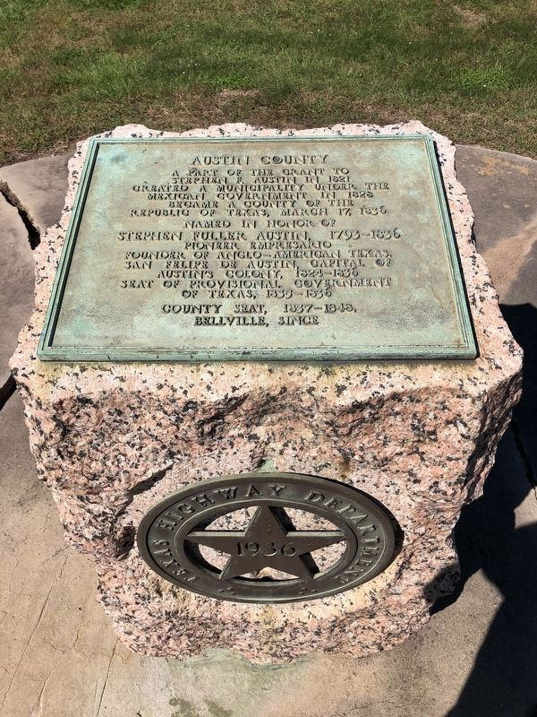 Austin County Marker image, Touch for more information