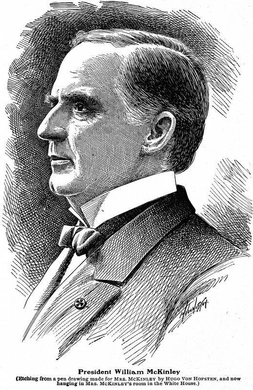 President William McKinley image. Click for full size.