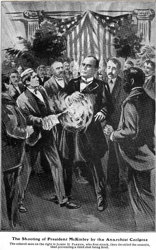 The Shooting of President McKinley by the Anarchist Czolgosz image. Click for full size.