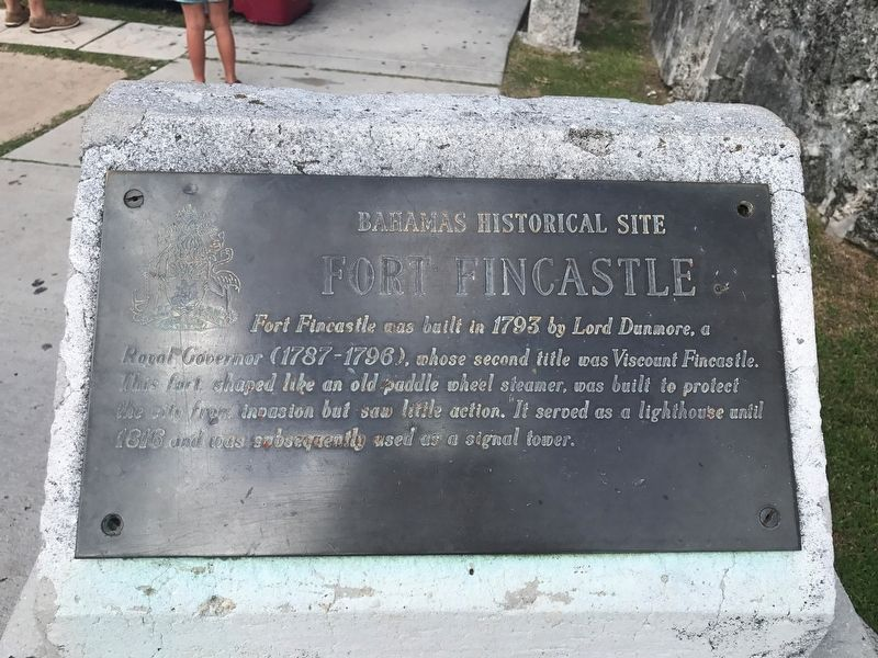 Fort Fincastle Marker image. Click for full size.