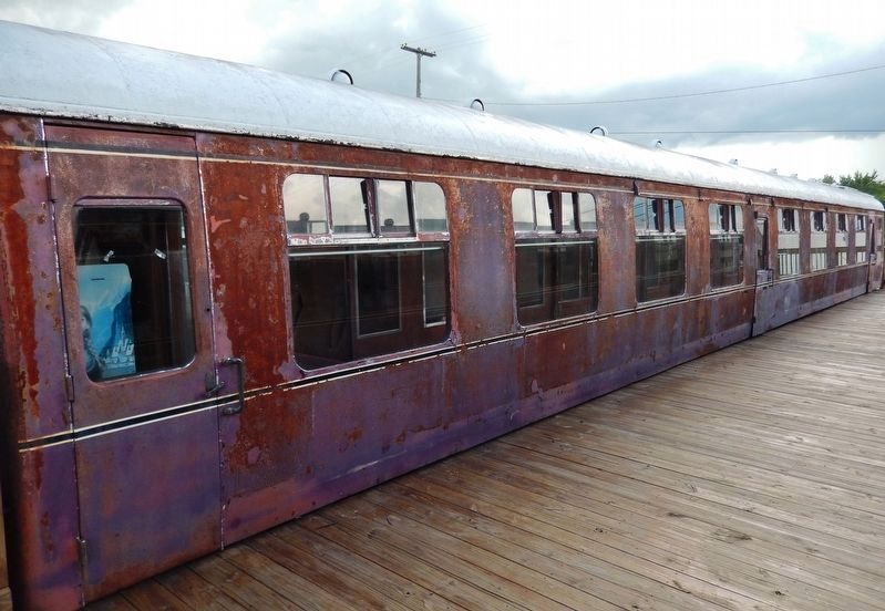 1954 British Railway Coach Car (<i>Railroad Depot Museum collection</i>) image. Click for full size.