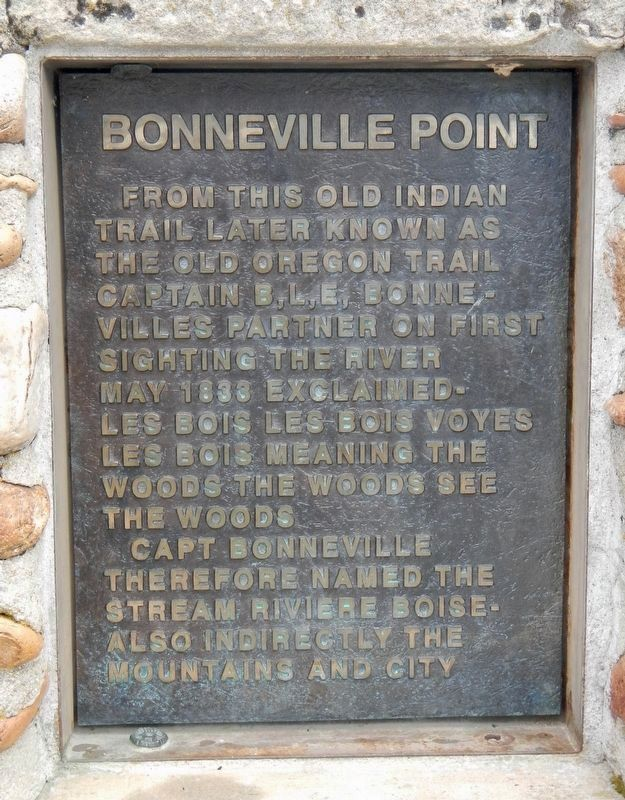 Bonneville Point Marker image. Click for full size.