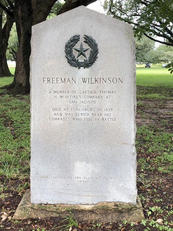 Freeman Wilkinson Marker image. Click for full size.