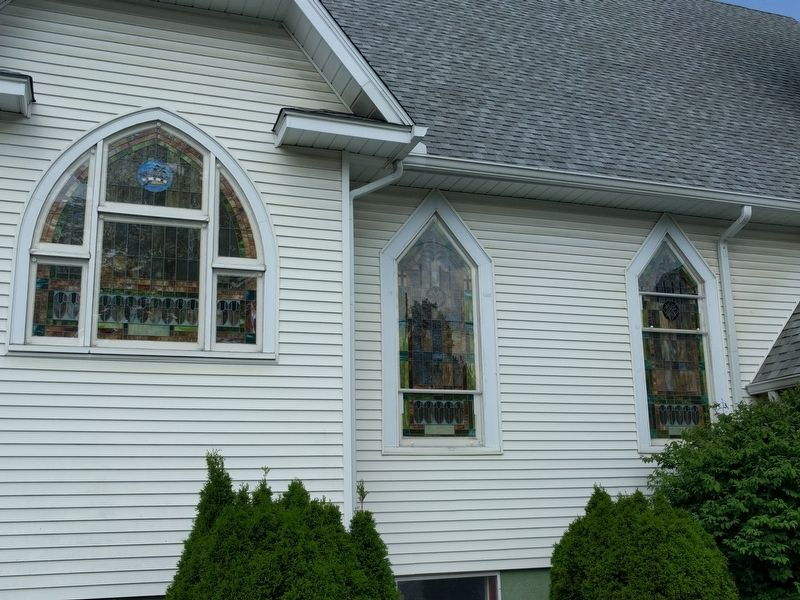 The Potterville United Methodist Church image. Click for full size.