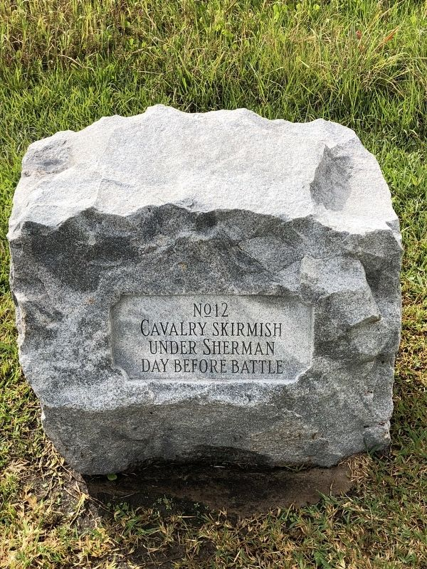 Cavalry Skirmish Marker image. Click for full size.