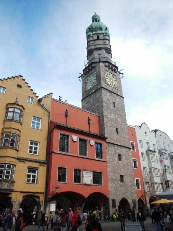 Historisches Rathaus and Marker image. Click for full size.