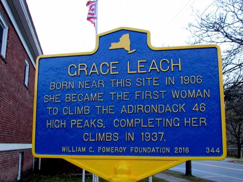 Grace Leach Marker image. Click for full size.