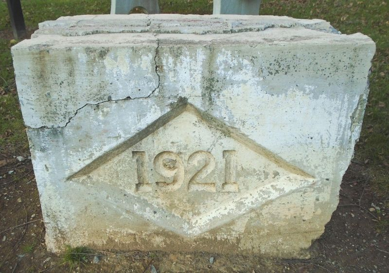 Lititz Freight Station Date Stone Remnant image. Click for full size.
