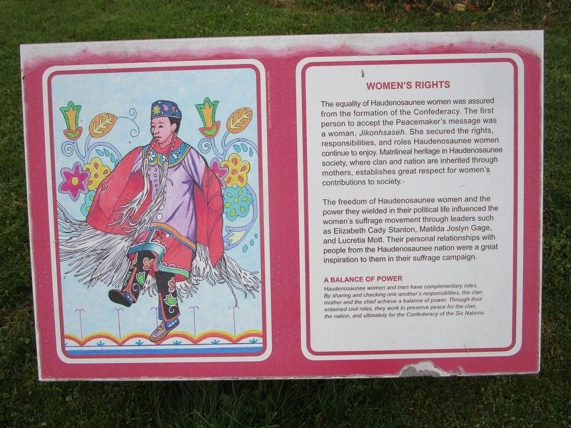 Women's Rights Marker image. Click for full size.