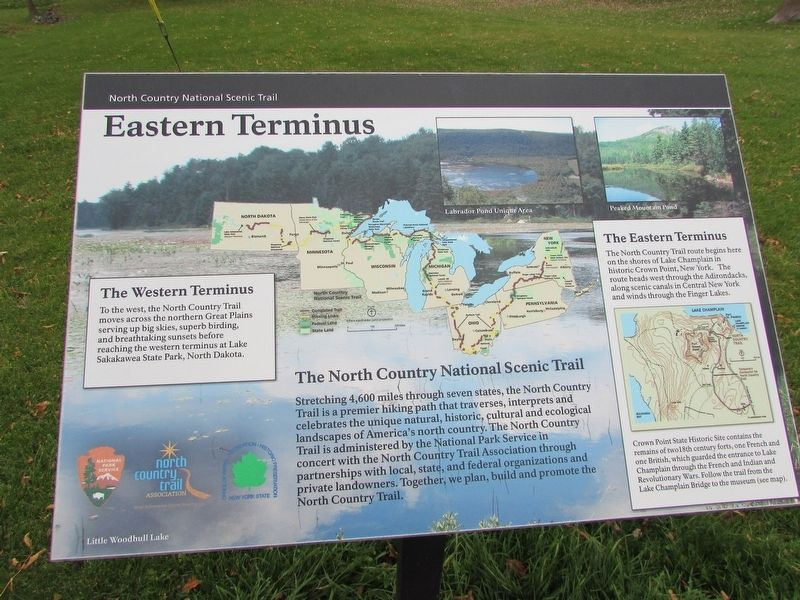 Eastern Terminus Marker image. Click for full size.
