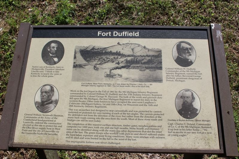 Fort Duffield Marker image. Click for full size.