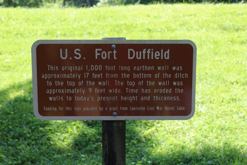 U.S. Fort Duffield Marker image. Click for full size.