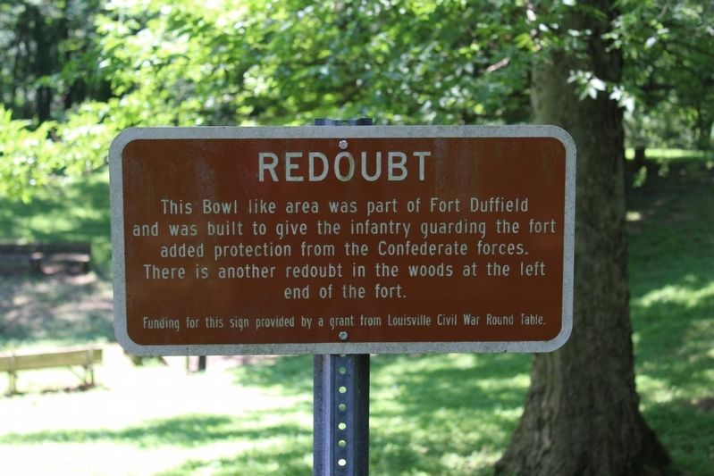 Redoubt Marker image. Click for full size.