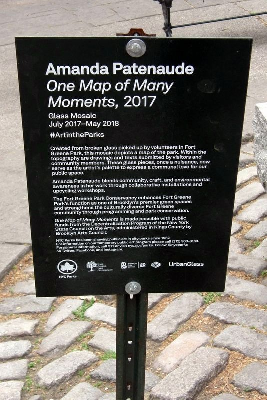 NYC Parks marker image. Click for full size.