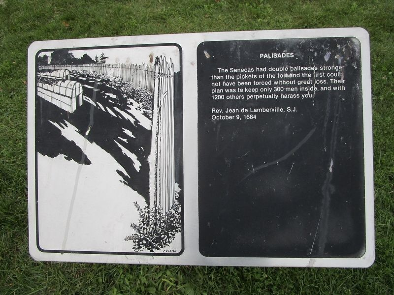 Palisades Marker image. Click for full size.