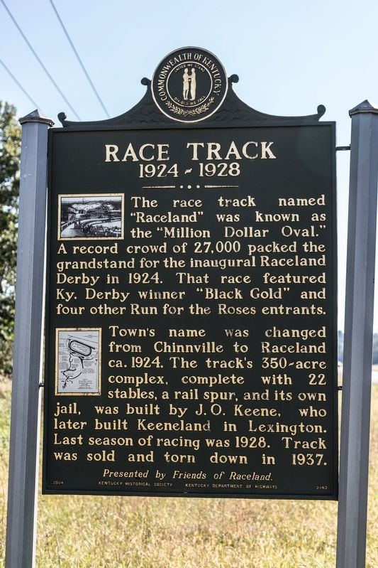 Race Track Marker image. Click for full size.
