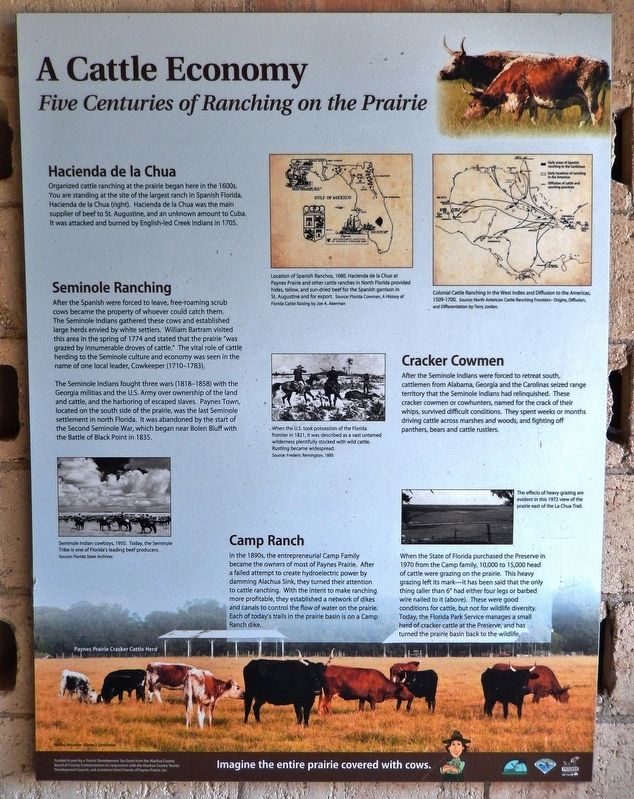 A Cattle Economy Marker image. Click for full size.
