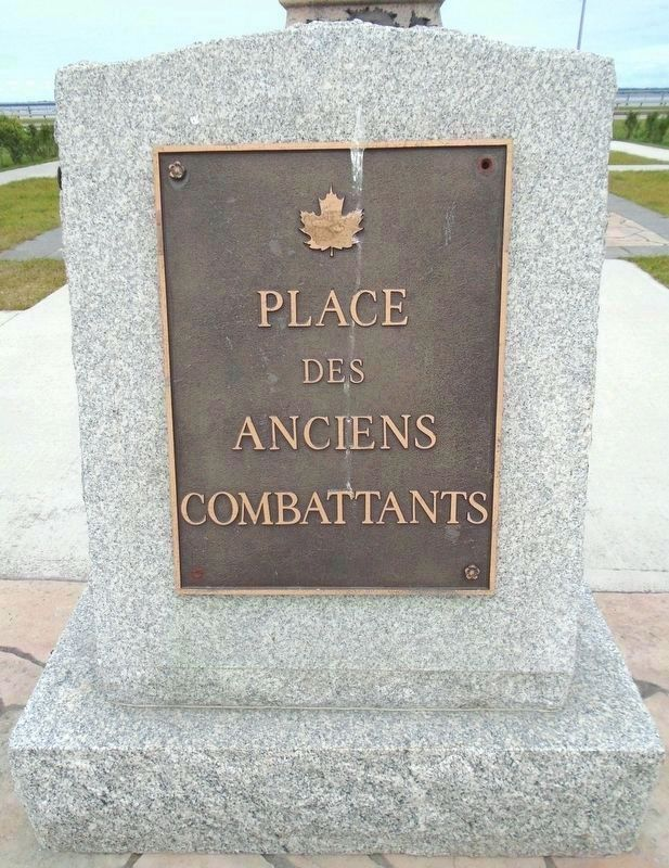 Place des anciennes combattants / Veterans Plaza image. Click for full size.