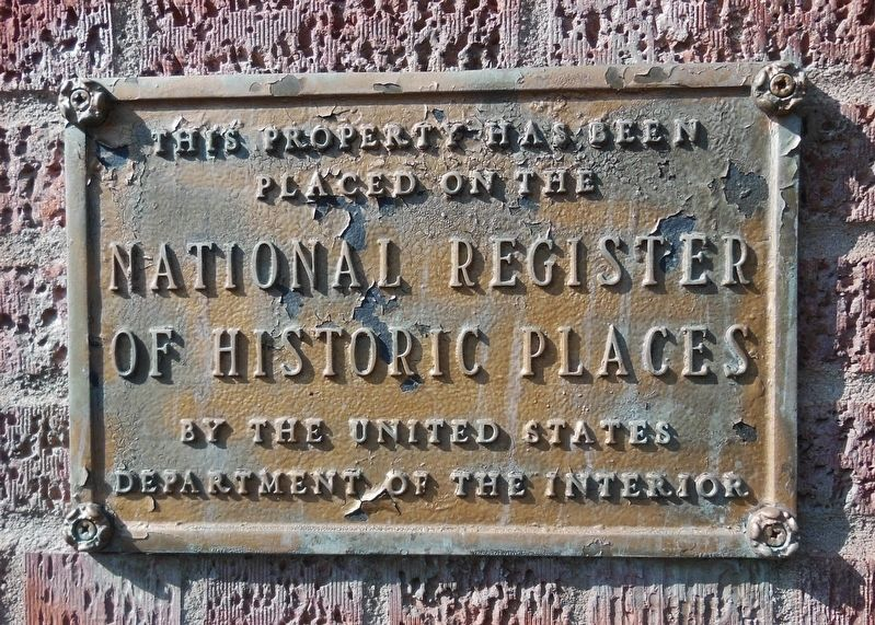 Hibbing City Hall National Register of Historic Places plaque image. Click for full size.