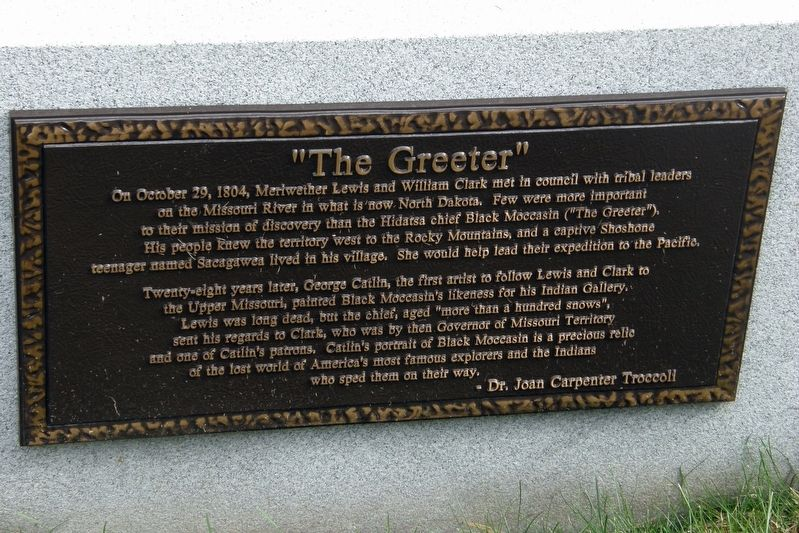 """The Greeter"" Marker image. Click for full size."