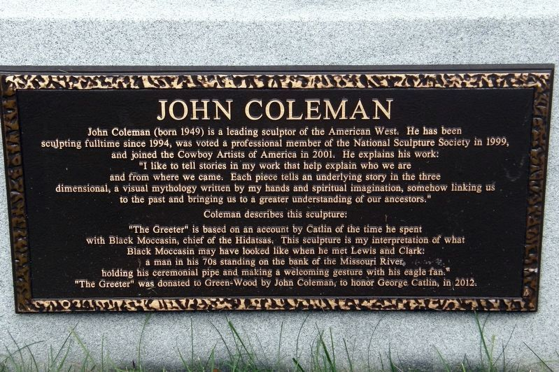 John Coleman Marker image. Click for full size.