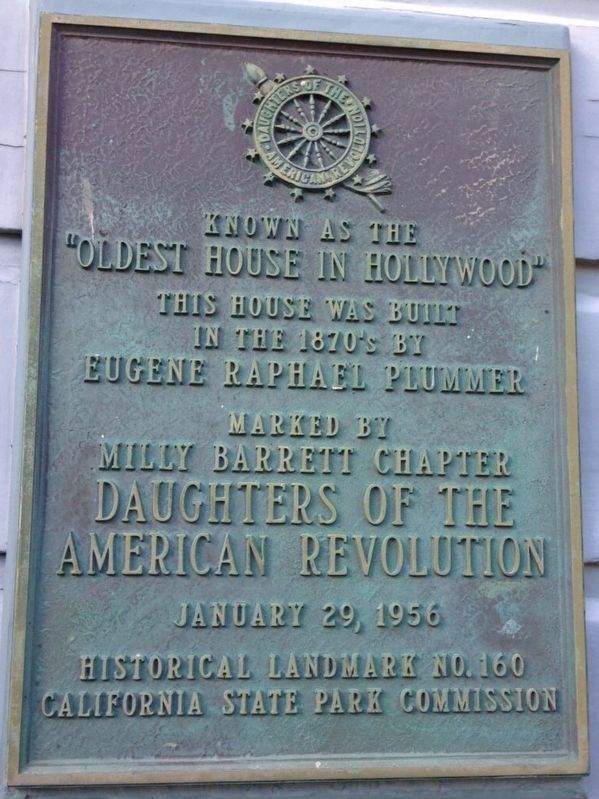 Plummer House Marker image. Click for full size.