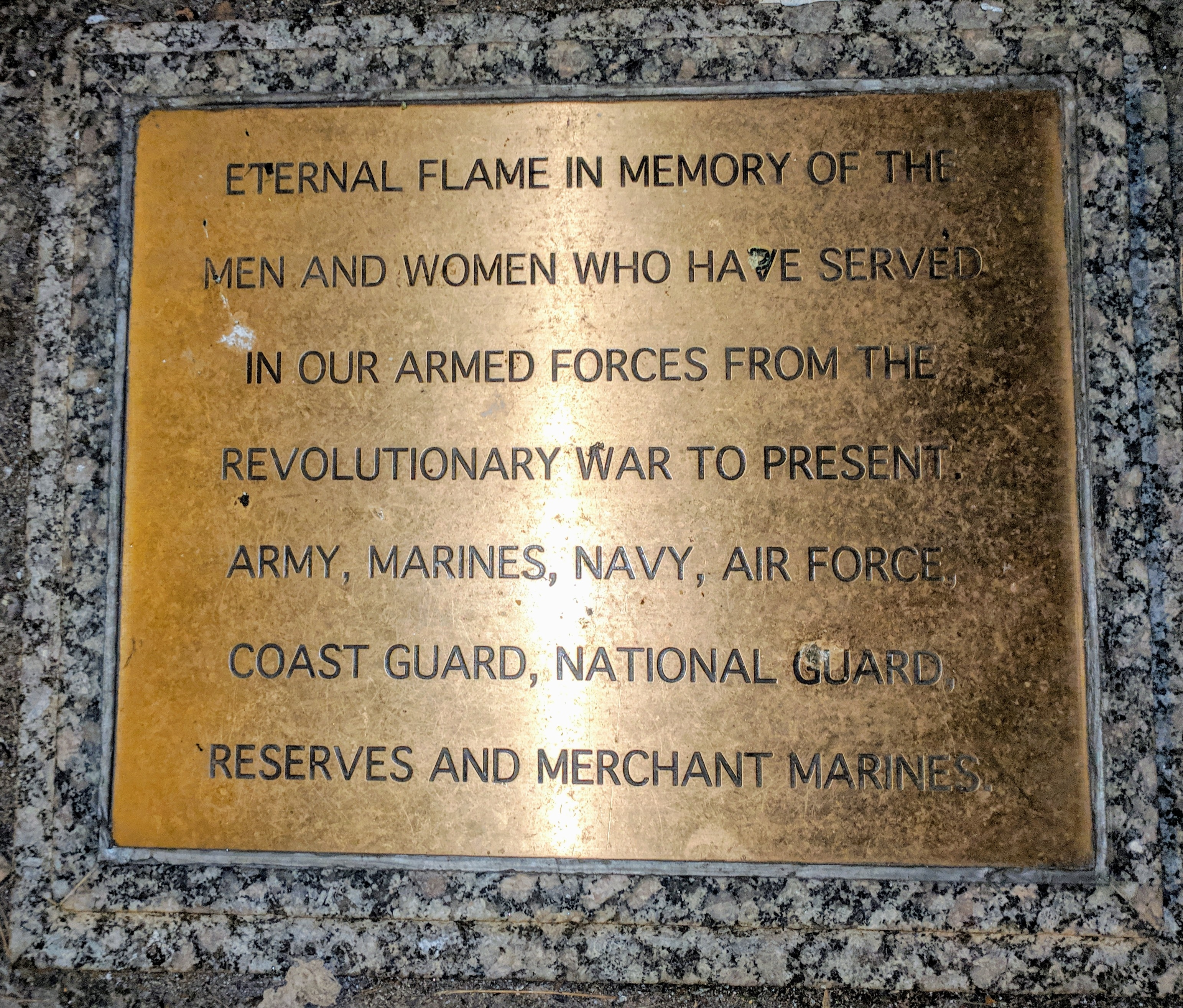 Eternal Flame Marker
