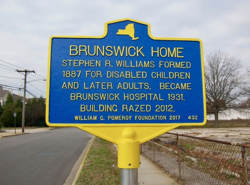 Brunswick Home Marker image. Click for full size.