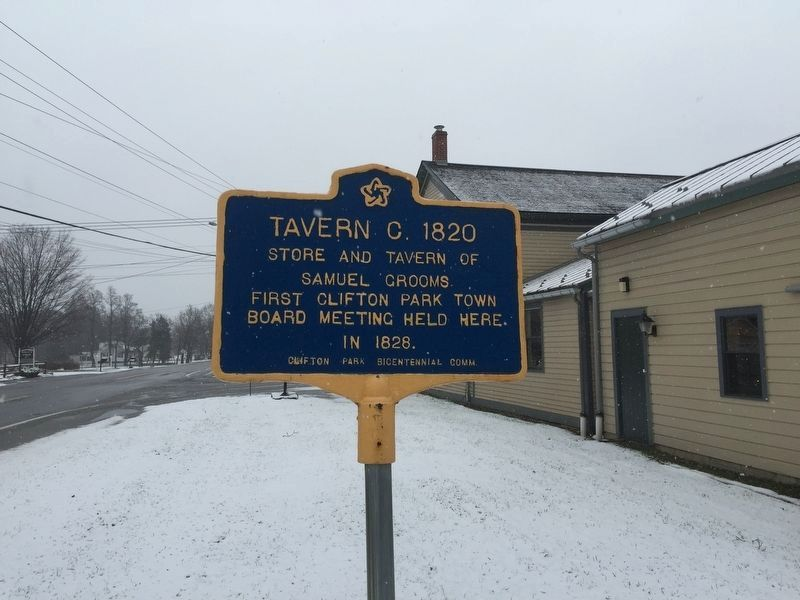 Tavern C. 1820 Marker image. Click for full size.