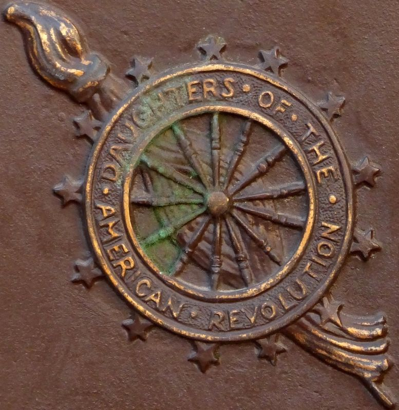 Seal of the Daughters of the American Revolution image. Click for full size.
