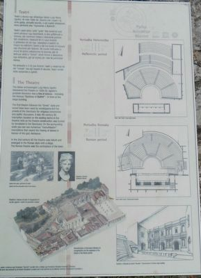 The Theatre Marker image. Click for full size.