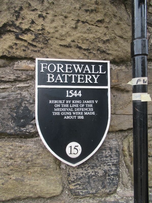 Forewall Battery Marker image. Click for full size.