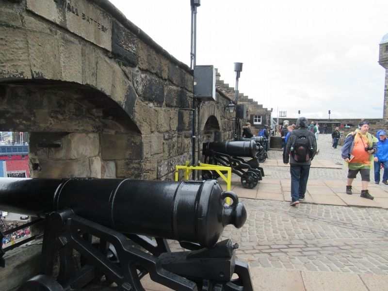 Cannon of the Forewall Battery image. Click for full size.