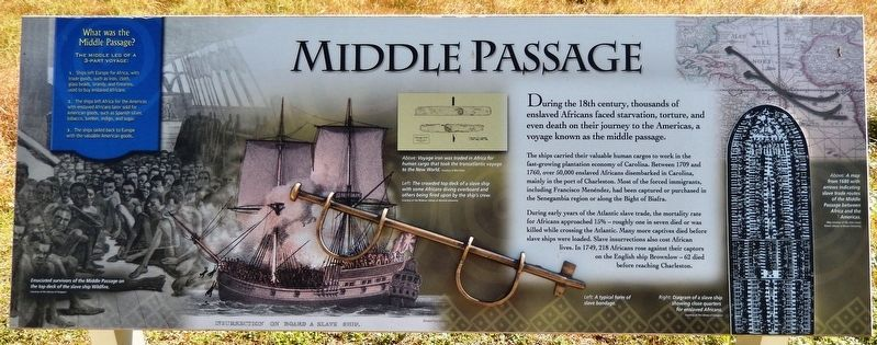 Middle Passage Marker image. Click for full size.