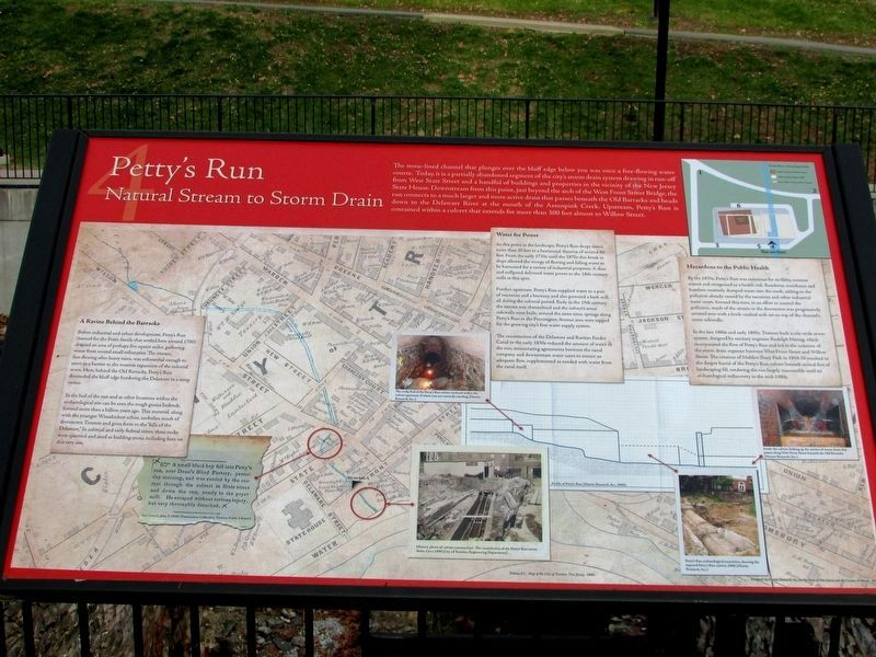 Petty's Run Marker image. Click for full size.